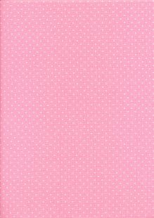 Andover Fabrics Kathy Hall - Bijoux Square Dot French Rose 2/8702R