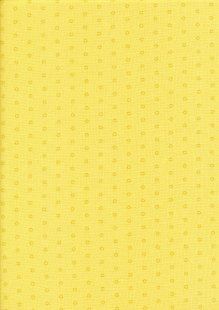 Andover Fabrics Kathy Hall - Bijoux Sol Mellow Yellow 2/8703YG