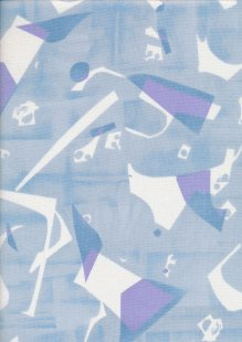 Andover Fabrics Print Making By Lizzy House - Picadilly Blue