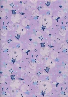 Andover Fabrics Print Making By Lizzy House - Victoria Purple
