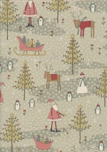 Winter Wonderland By Anni Downs For Henry Glass - PATT 2303 Col 66