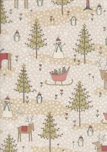 Winter Wonderland By Anni Downs For Henry Glass - PATT 2303 Col 34