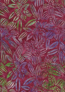 Fabric Freedom Bali Batik Stamp - Pink 125/A