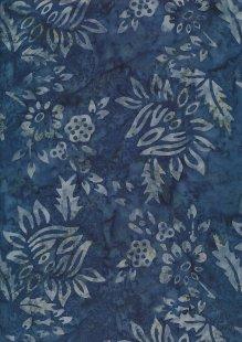 Fabric Freedom Bali Batik Stamp - Blue 192/F