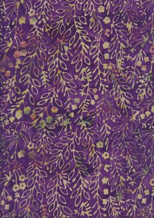 Fabric Freedom Bali Batik Stamp - Purple 176/E