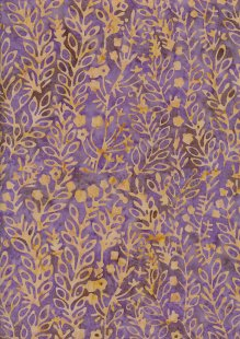 Fabric Freedom Bali Batik Stamp - Purple 176/D