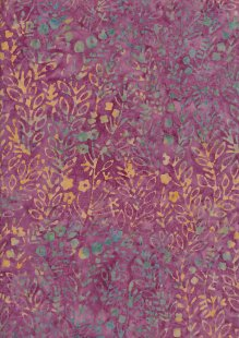 Fabric Freedom Bali Batik Stamp - Pink 176/H