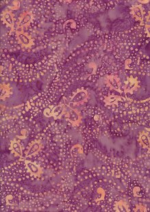 Fabric Freedom Bali Batik Stamp - Purple 169/G