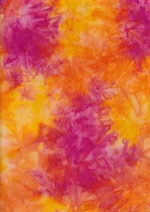 Fabric Freedom Salt Dyed Bali Batik - Yellow 174/C
