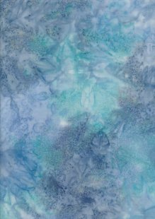 Fabric Freedom Salt Dye Bali Batik - BK 410/J Blue