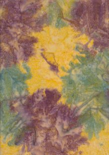 Fabric Freedom Salt Dye Bali Batik - BK 404/G Yellow