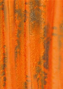 Fabric Freedom Fold Dye Bali Batik - BK 150/T Orange