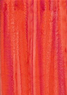 Fabric Freedom Fold Dye Bali Batik - BK 417/F Orange