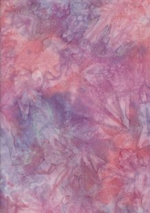 Fabric Freedom Salt Dye Bali Batik - BK 412/I Purple