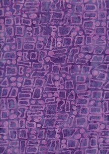 Sew Simple Bail Batik - Purple SSHH-023-34B