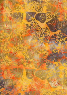 Sew Simple Bail Batik - Orange SSHH-350-28A