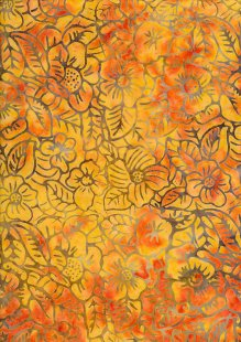 Sew Simple Bail Batik - Orange SSHH-349-28A