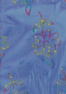 Bargain Batik - Seersucker Blue 1