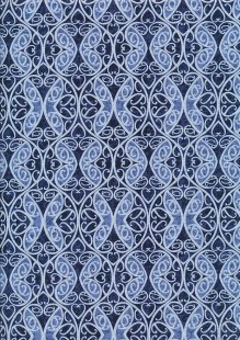 Blank Quilting - Once In A Blue Wood 9739-77