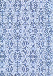 Blank Quilting - Once In A Blue Wood 9739-75