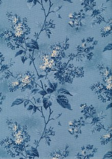Blue Sky By Laundry Basket Quilts - /8505 W Lilacs Sky