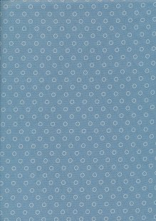 Blue Sky By Laundry Basket Quilts - 2/8515 W Bubbles Baltic