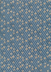 Blue Sky By Laundry Basket Quilts - 2/8507 B Sweetheart Azura