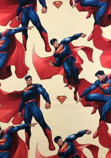 Chatham Glyn - Disney Cotton Fabric Cavill.11