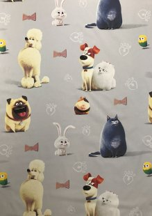 Chatham Glyn - Disney Cotton Fabric Perros.55