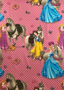 Chatham Glyn - Disney Cotton Fabric Cavalos 33
