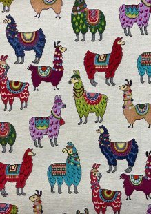Chatham Glyn - New World Tapestry Llamas