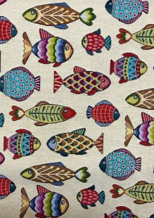 Chatham Glyn - New World Tapestry Fish