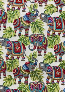 Chatham Glyn - New World Tapestry Elephants