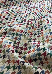 Chatham Glyn - New World Tapestry Hounds Tooth