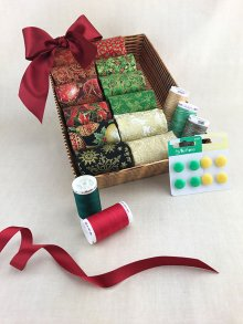 Christmas Hamper - Christmas Fabric