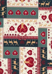 "Rose & Hubble 54"" Wide Christmas Fabric - 26"