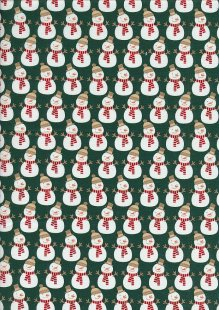"Rose & Hubble 54"" Wide Christmas Fabric - 29"