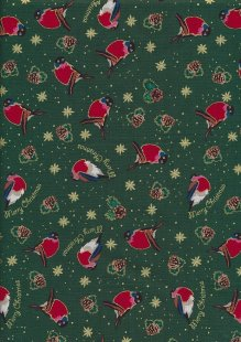 "Rose & Hubble 54"" Wide Christmas Fabric - 35"