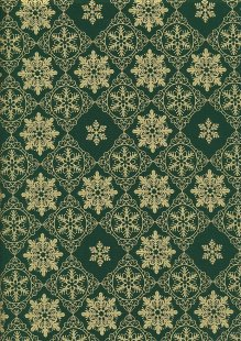 "Rose & Hubble 54"" Wide Christmas Fabric - 42"