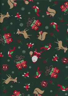 "Rose & Hubble 54"" Wide Christmas Fabric - 44"