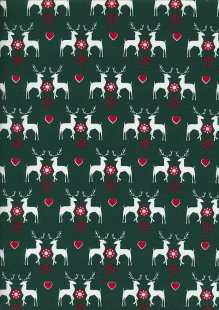"Rose & Hubble 54"" Wide Christmas Fabric - 46"