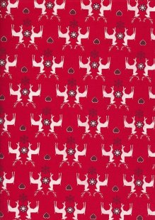 "Rose & Hubble 54"" Wide Christmas Fabric - 53"
