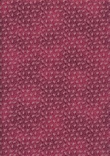 Colour Collection By Clothworks - Ditsy Fern Red