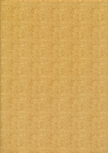 Colour Collection By Clothworks - Zig-Zag Burnt Yellow