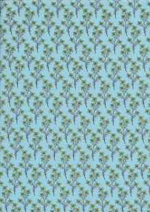 Colour Collection By Clothworks - Floral Sprig Mint
