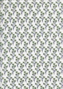 Colour Collection By Clothworks - Floral Sprig Cream