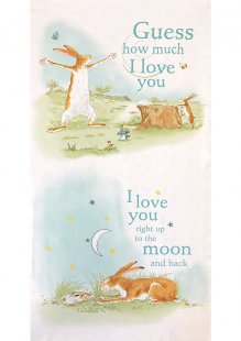 Clothworks - Guess How Much I Love You Panel