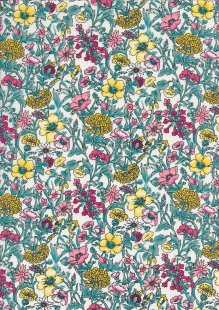 Fabric Freedom Cotton Lawn - st/2604b dsn 11 col 1