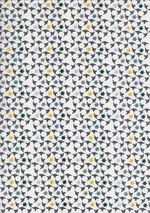 Fabric Freedom Cotton Lawn - st-2604b dno-18 col 1