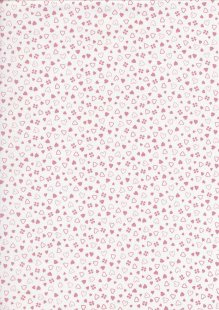 Quality Cotton Print - Hearts 3